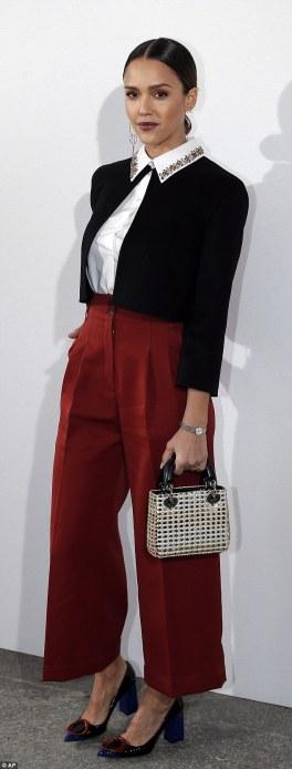 Jessica Alba in Christian Dior-1