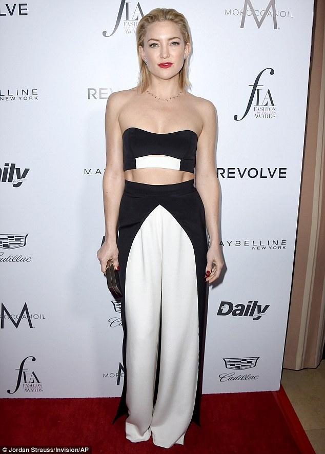 Kate Hudson in August Getty Atelier
