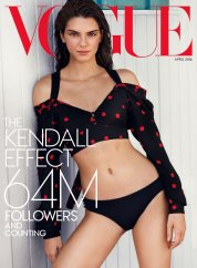 Kendall Jenner Vogue US April 2016-Cover