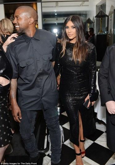 Kim Kardashian in Calvin Klein-1