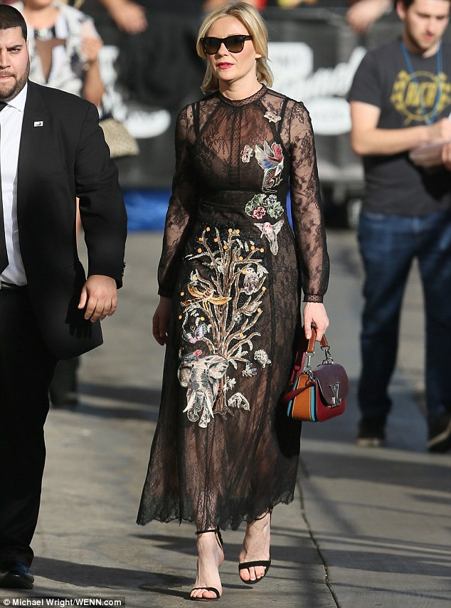 Kirsten Dunst in Valentino Resort 2016