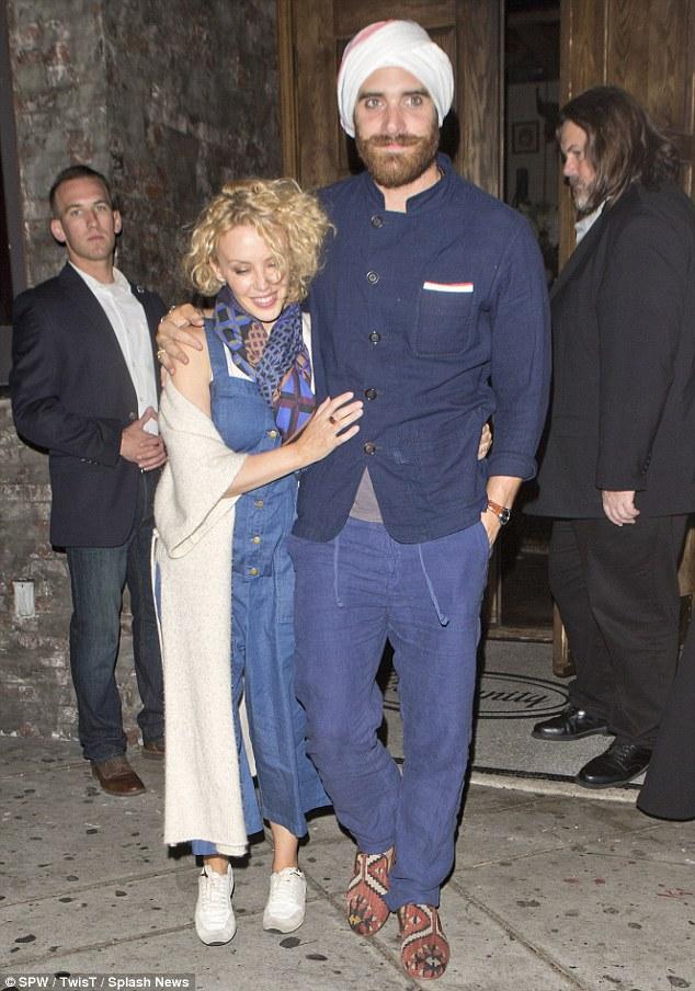 Kylie Minogue in Stella McCartney Denim Dress