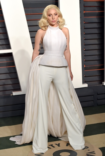 Lady Gaga in Brandon Maxwell