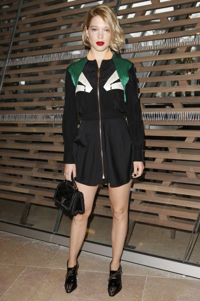 Léa Seydoux in Louis Vuitton Pre-Fall 2016