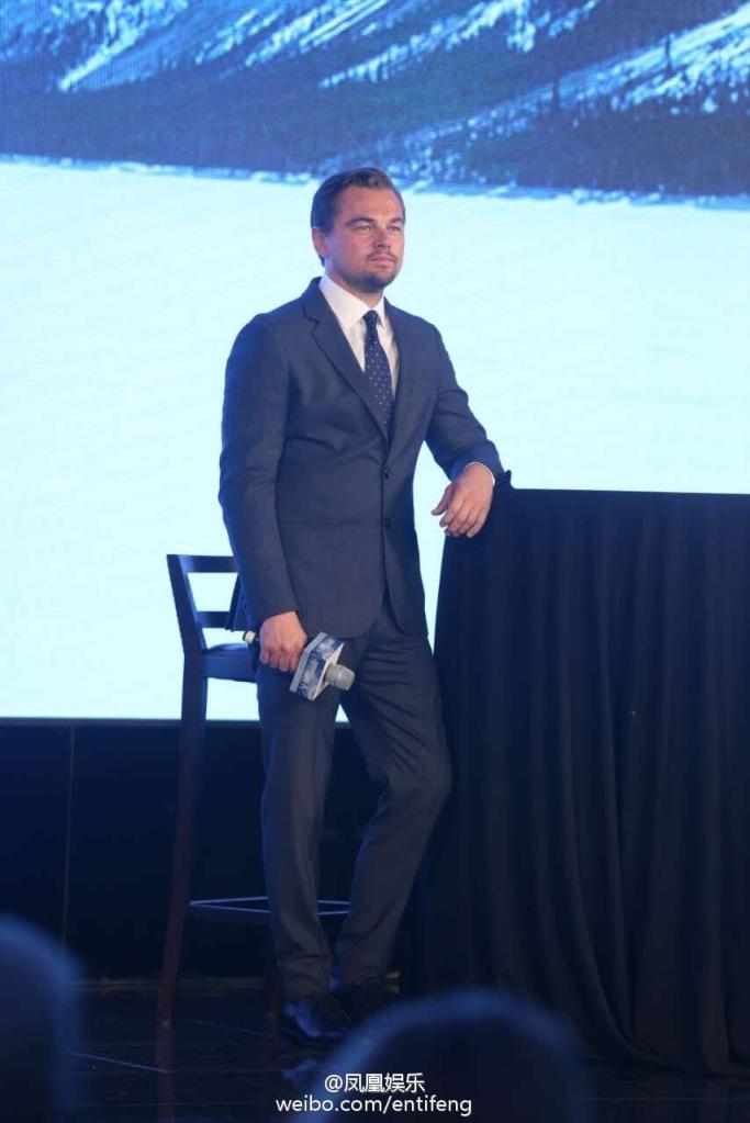 Leonardo DiCaprio promotes movie The Revenant in Beijing-3