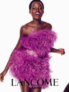 Lupita Nyong'o X Lancôme Juicy Shaker 2016 Campaign -2016.3.22-