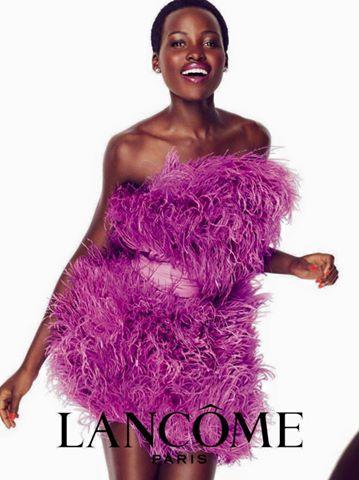 Lupita Nyong'o Lancôme Spring 2016 Campaign