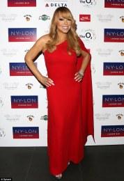 Mariah Carey in Jill Stuart