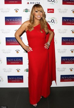 Mariah Carey in Jill Stuart