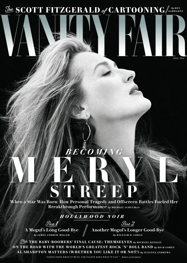 Meryl Streep Vanity Fair April 2016 Cover