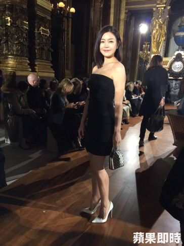 Michelle Chen in Stella McCartney Spring 2016-1