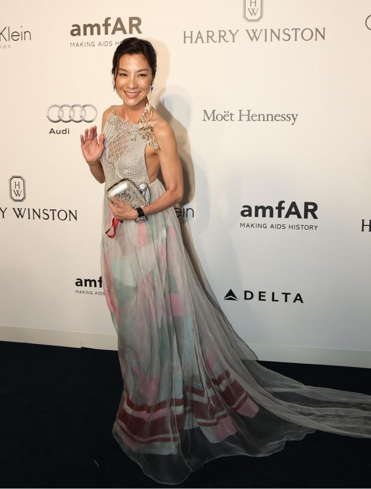 Michelle Yeoh in Schiaparelli Spring 2016 Couture