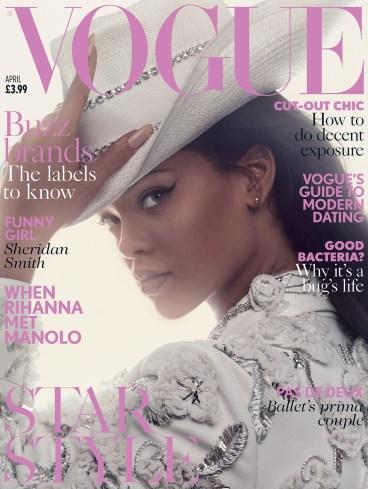 Rihanna British Vogue April 2016 Cover