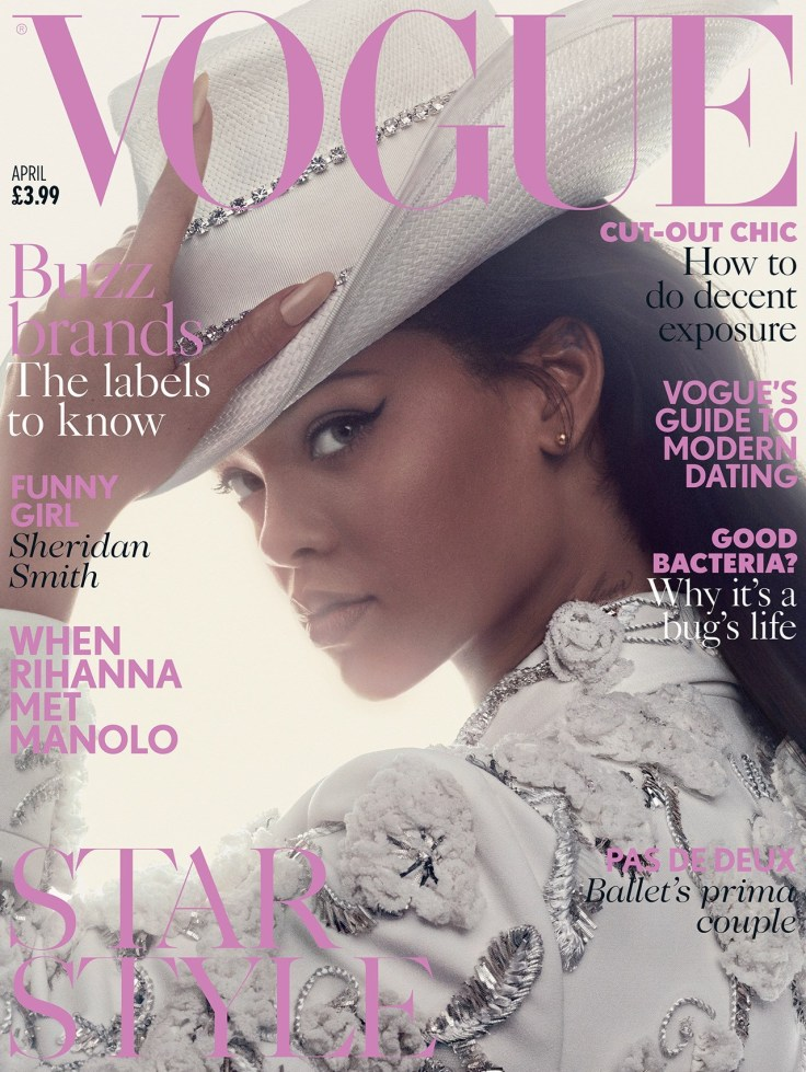 Rihanna British Vogue April 2016 Cover