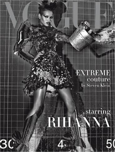 Rihanna Vogue Italia September 2009 Cover