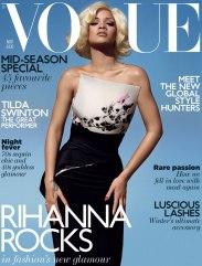 Rihanna Vogue UK November 2011