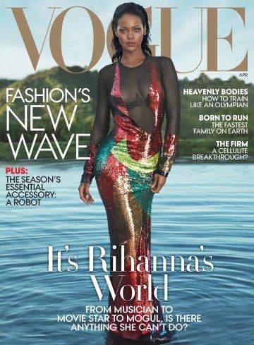 Rihanna Vogue US April 2016-Cover