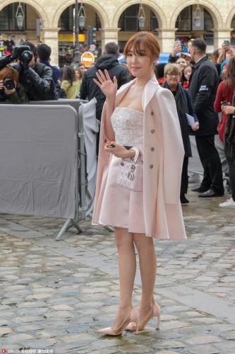 Tiffany in Christian Dior-1