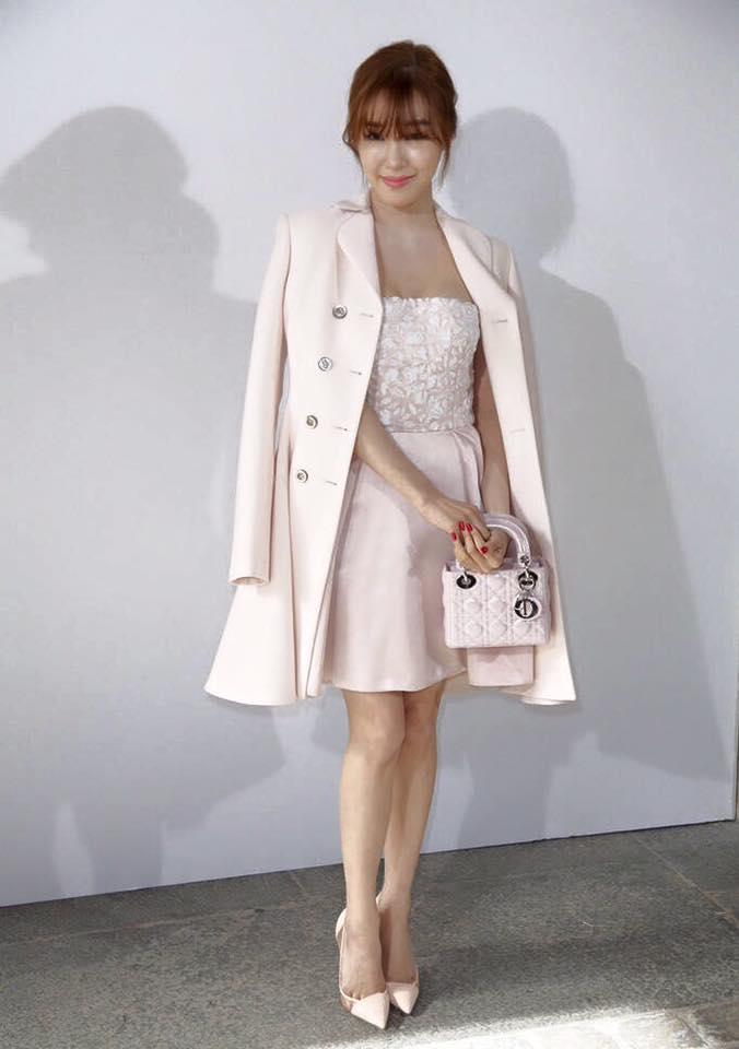 Tiffany in Christian Dior