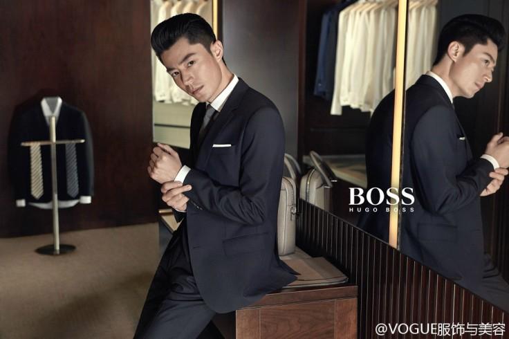 Wallace Huo Hugo Boss Campaign-1