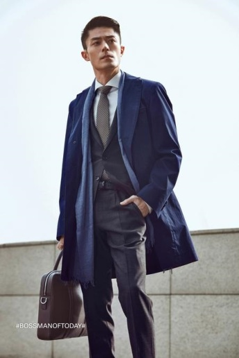 Wallace Huo Hugo Boss Man of Today Campaign-4