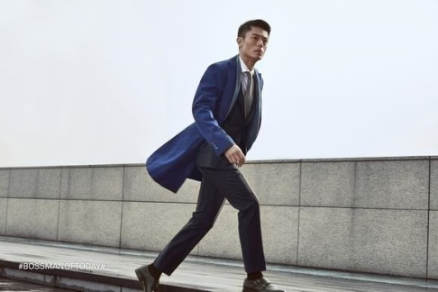 Wallace Huo Hugo Boss Man of Today Campaign-5