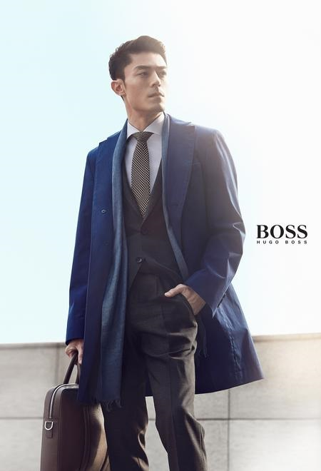 Wallace Huo Hugo Boss Man of Today Campaign-7