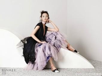 Xiao Wen Ju Vogue China April 2016-1