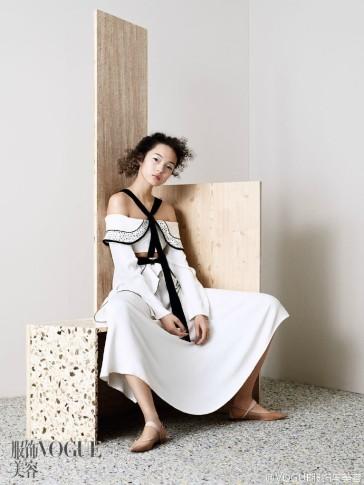 Xiao Wen Ju Vogue China April 2016-8