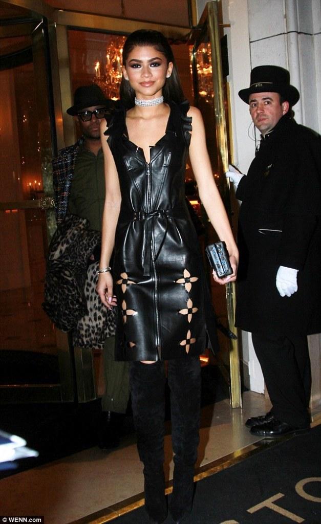 Zendaya in Louis Vuitton Resort 2016