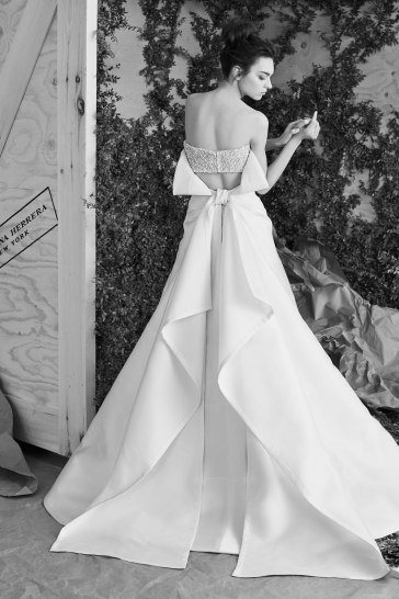 Carolina Herrera Bridal Spring 2017 Look 12