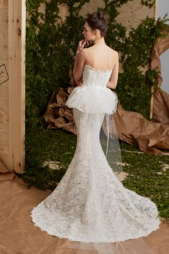 Carolina Herrera Bridal Spring 2017 Look 5