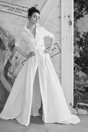 Carolina Herrera Bridal Spring 2017 Look 8