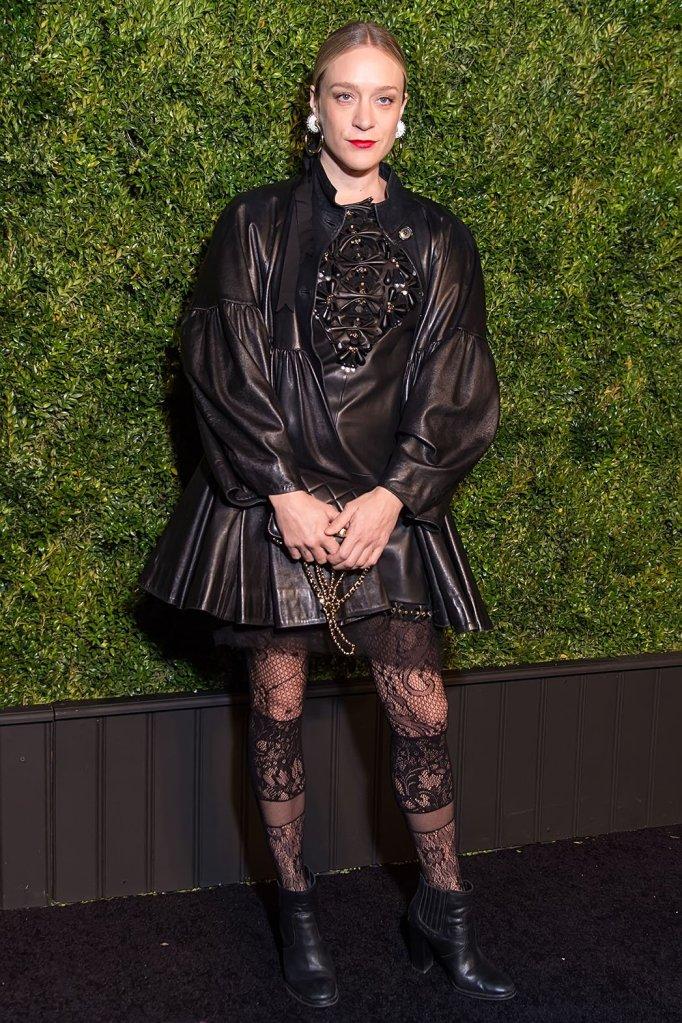 Chloe Sevigny in Chanel Pre-Fall 2016