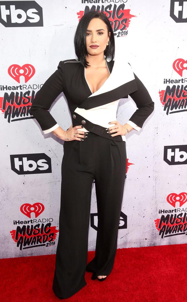Demi Lovato in Alexander McQueen Spring 2016