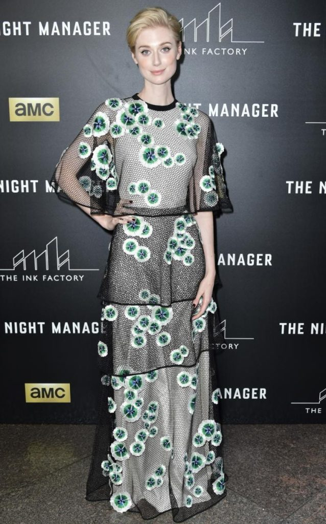 Elizabeth Debicki in Vionnet Resort 2016