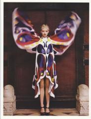 Gemma Ward & Du Juan Patrick Demarchelier Vogue Paris October 2005-1