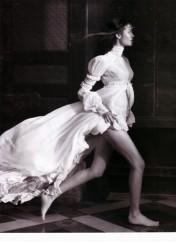 Gemma Ward & Du Juan Patrick Demarchelier Vogue Paris October 2005-2