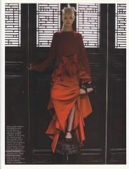 Gemma Ward & Du Juan Patrick Demarchelier Vogue Paris October 2005-4
