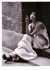 Gemma Ward & Du Juan Patrick Demarchelier Vogue Paris October 2005-9