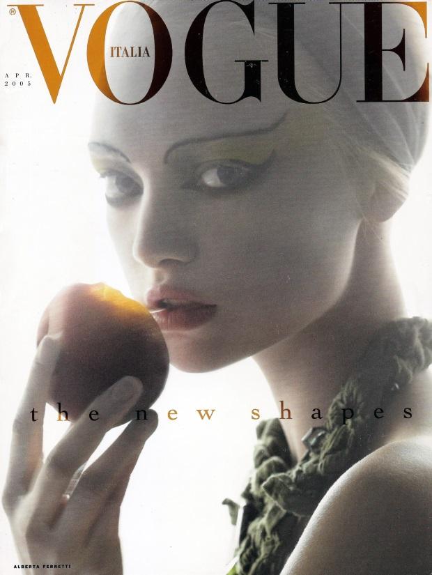 Gemma Ward Vogue Italia April 2005 Cover