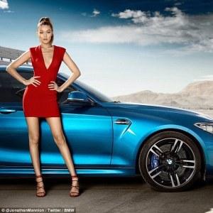 Gigi Hadid X BMW 2016 Campaign -2016.4.15-