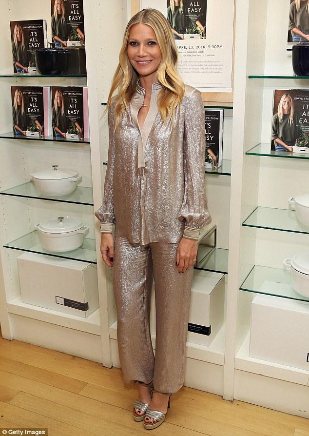 Gwyneth Paltrow in Tory Burch Fall 2016
