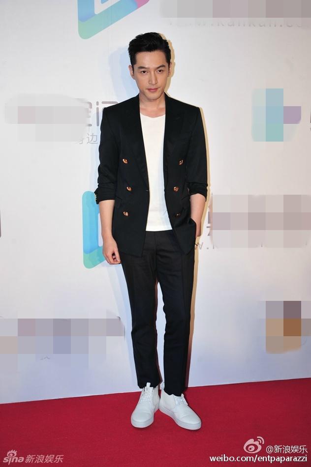 Hu Ge in Bally Spring 2016 Menswear