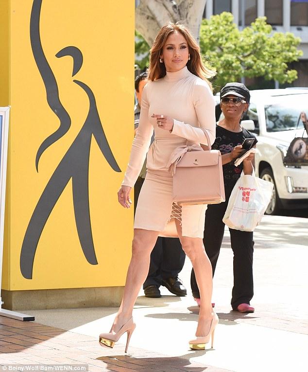 Jennifer Lopez in Houghton Fall 2016