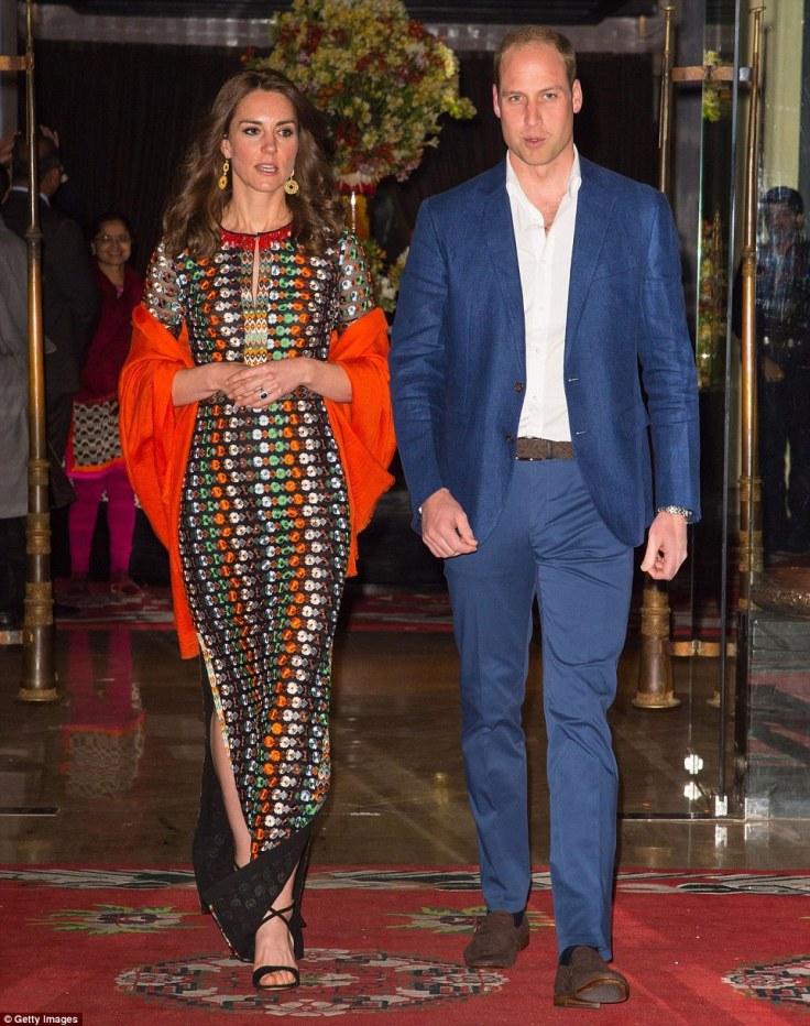 Kate Middleton in Tory Burch Resort 2016