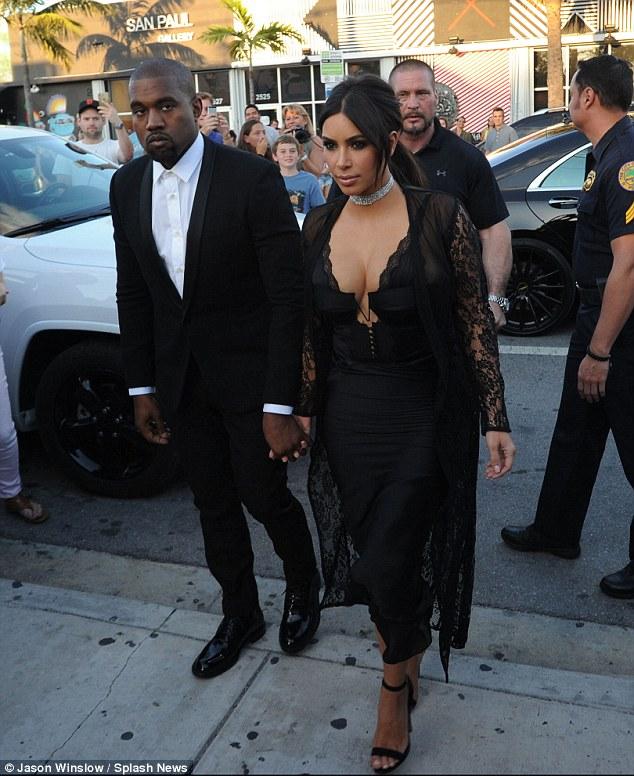 Kim Kardashian in Alexander Wang Spring 2016