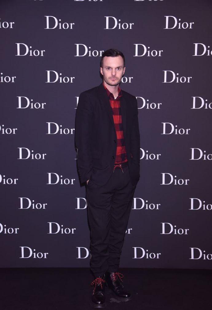 Kris Van Assche in Dior Homme Fall 2016