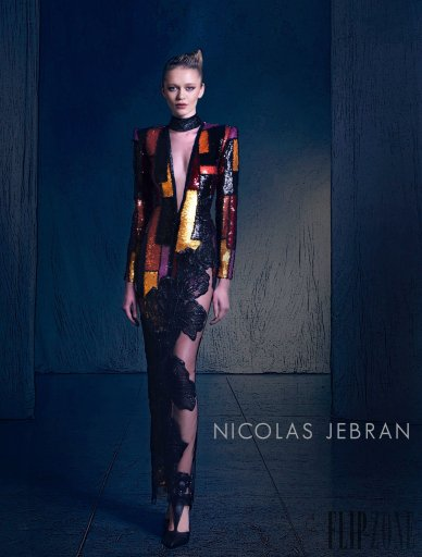 Nicolas Jebran Fall 2016 Couture Look 1