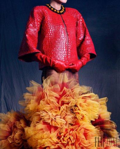 Nicolas Jebran Fall 2016 Couture Look 36
